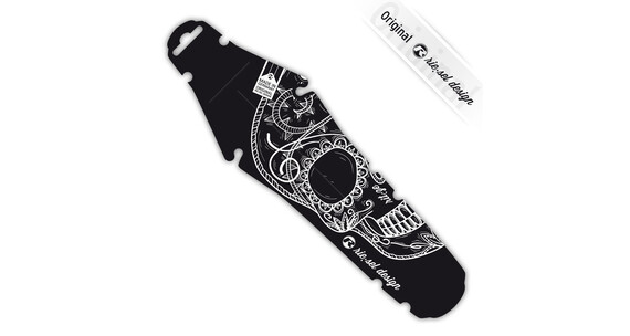 """rie:sel design rit:ze back fender saddle 26"""" - 29"""" skull mex"""